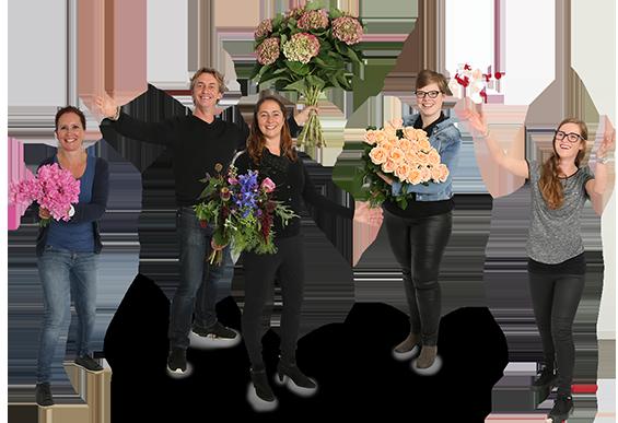 Personeel bloemetje by nils nees zeist home