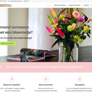nieuwe site bloemetje