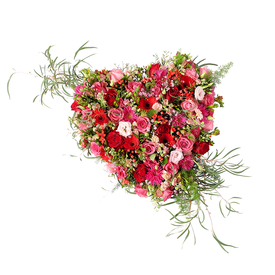 Hart bloemwerk nils
